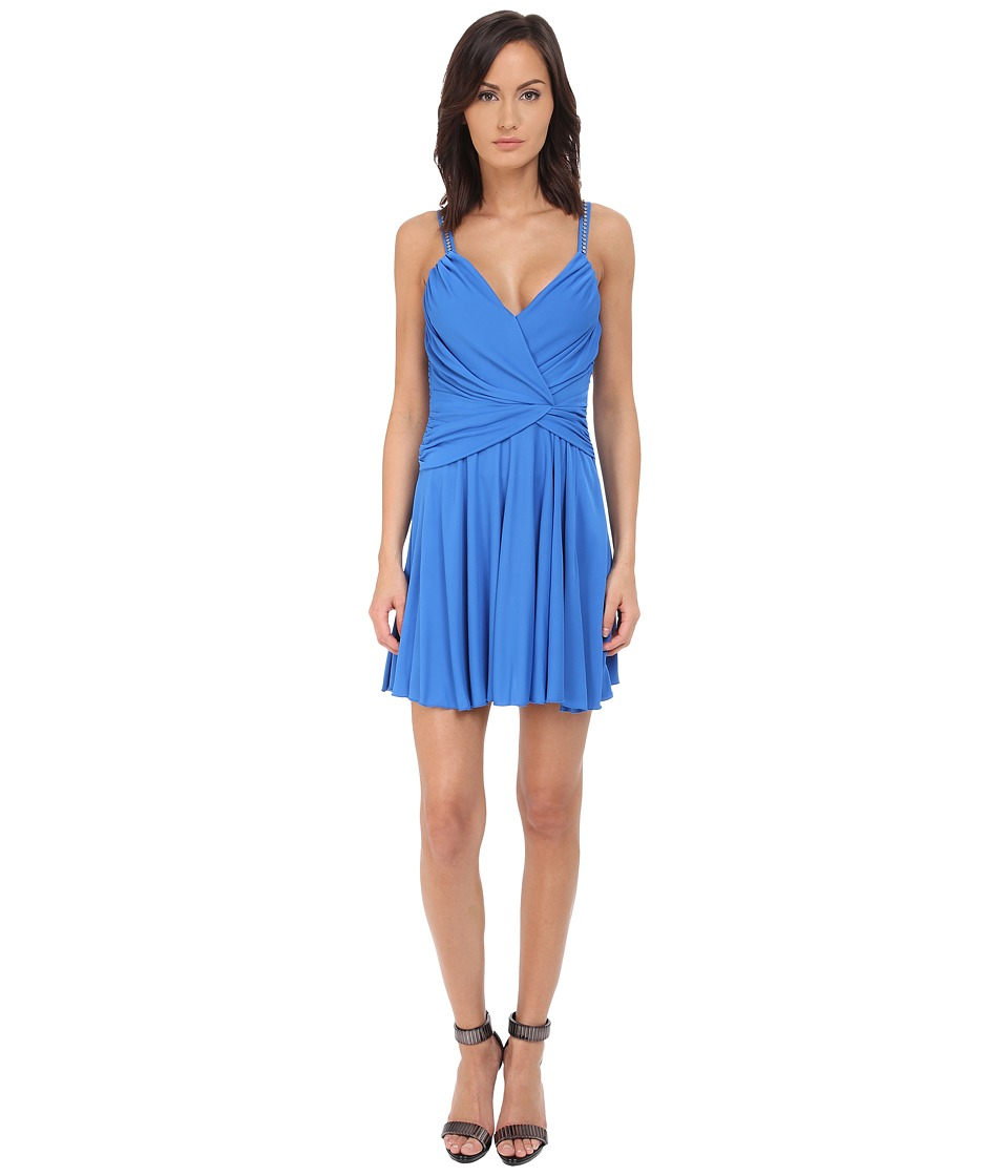 Philipp Plein Jersey Dress (Blue) Women