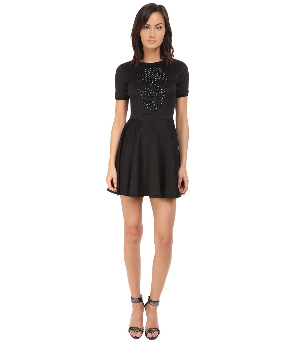 Philipp Plein - Skull Dress (Black) Women's Dress
