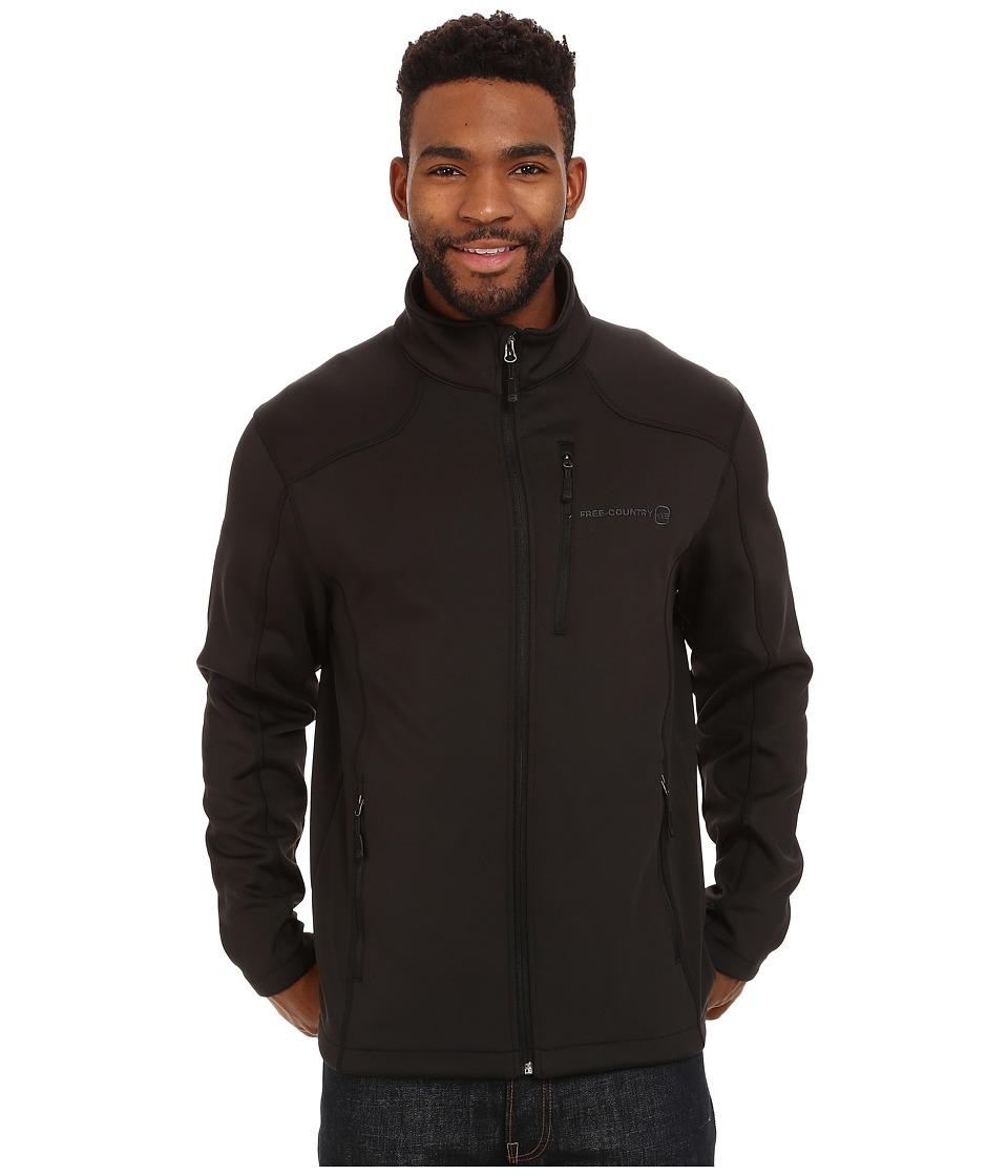 Free Country - Microtech Stretch Fleece (Black) Men's Fleece