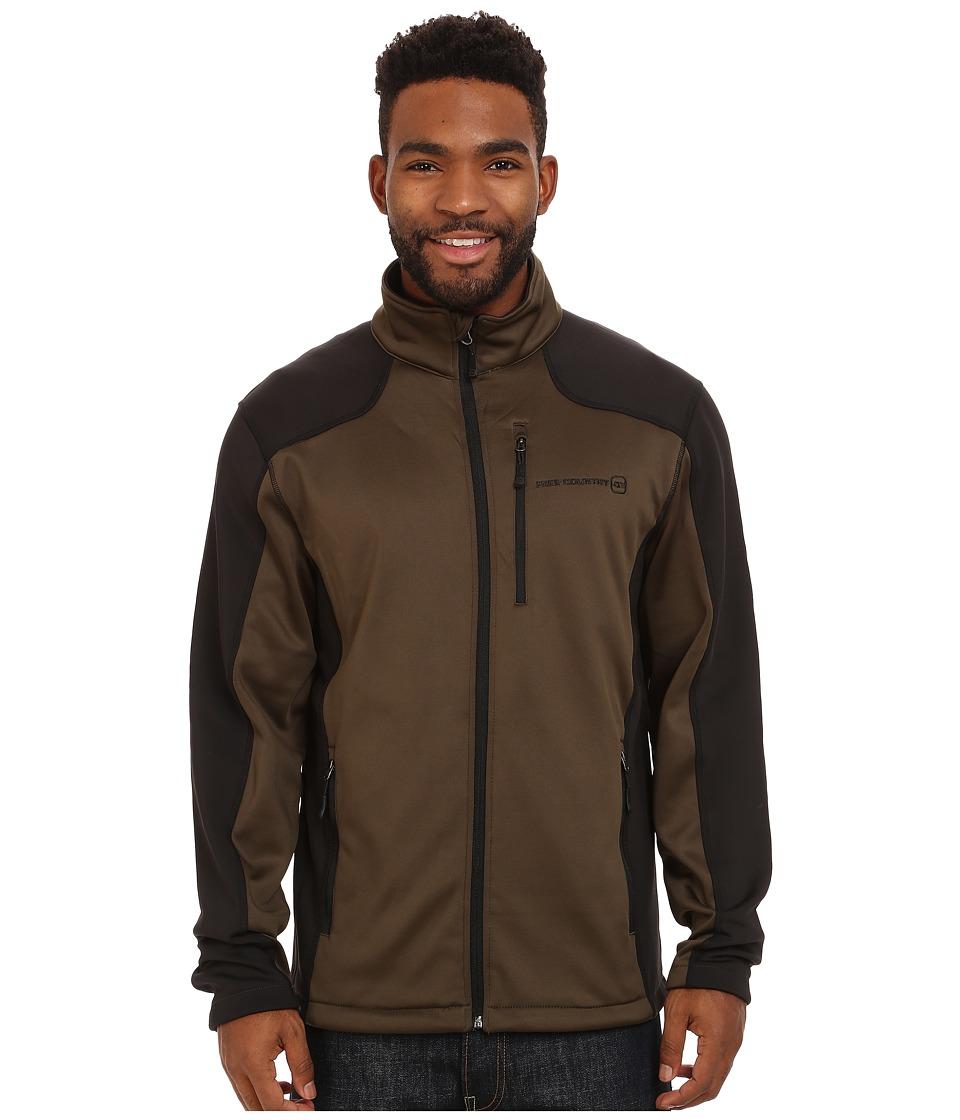 Free Country - Microtech Stretch Fleece (Canteen/Black) Men's Fleece