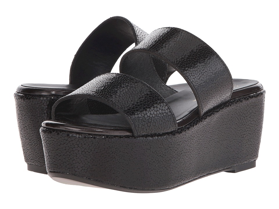 Robert Clergerie - Frazuc (Black) Women's Slide Shoes