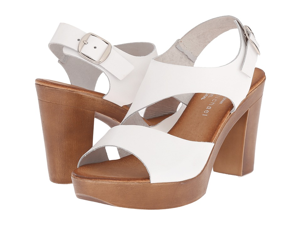 Eric Michael - Ginger (White) High Heels