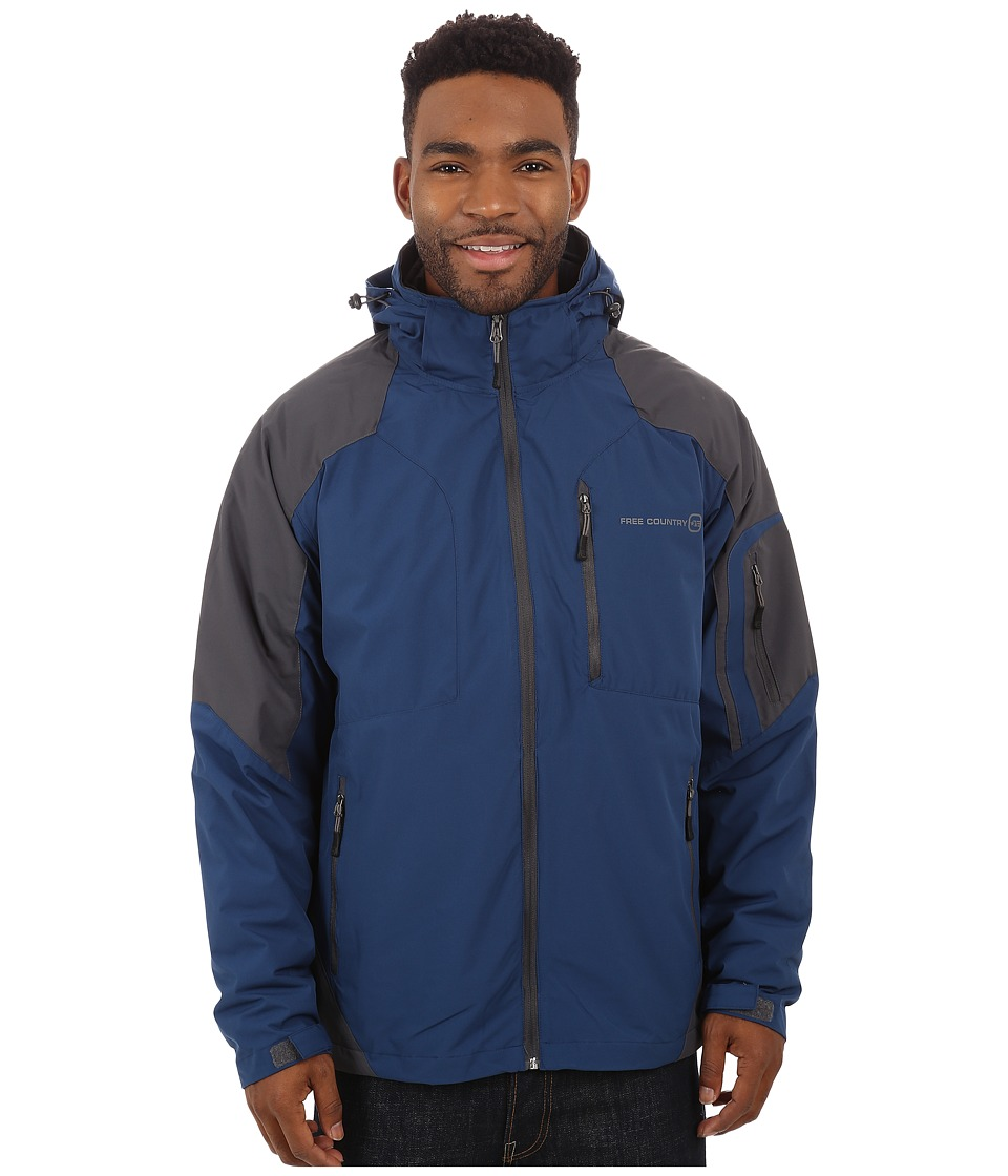 Free Country - Waterproof Stretch (Cold Blue) Men's Clothing