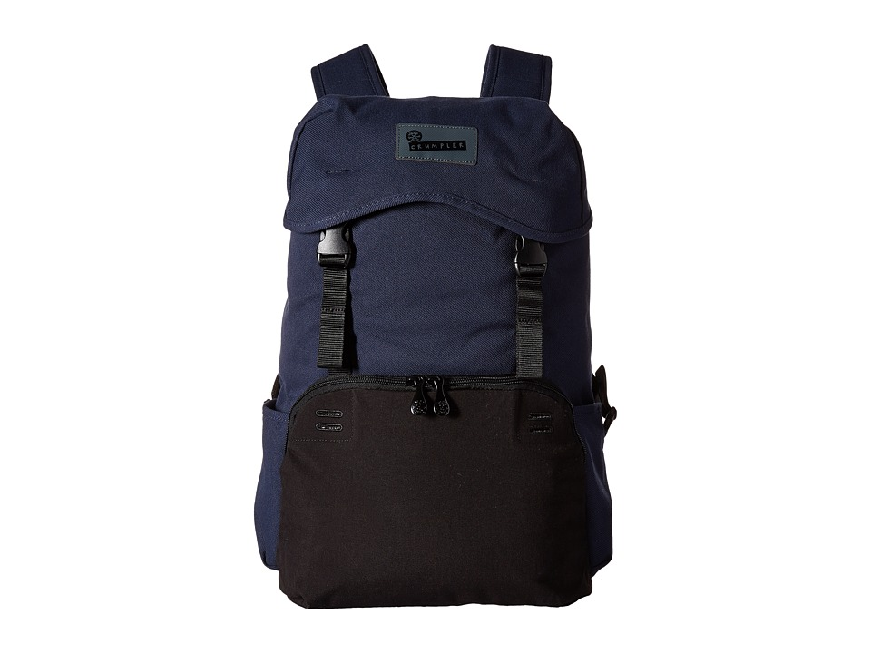 Crumpler - Aso Outpost Commuter Laptop Backpack (Midnight Blue) Backpack Bags