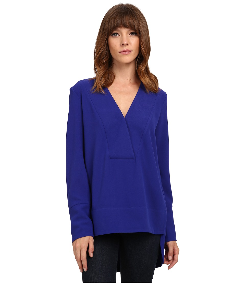 French Connection - Arrow Crepe Top 72EAO (Prince Rocks) Women's Clothing