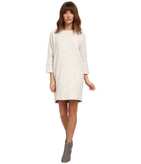 French Connection - Flossy Knits Dress 78ECA (Light Oatmeal Melange) Women's Dress