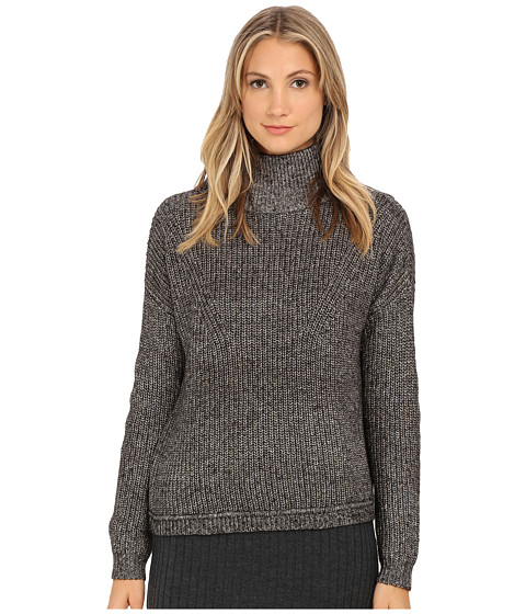 French Connection - Otis Cowl Neck Sweater 78EEL (Black) Women's Sweater