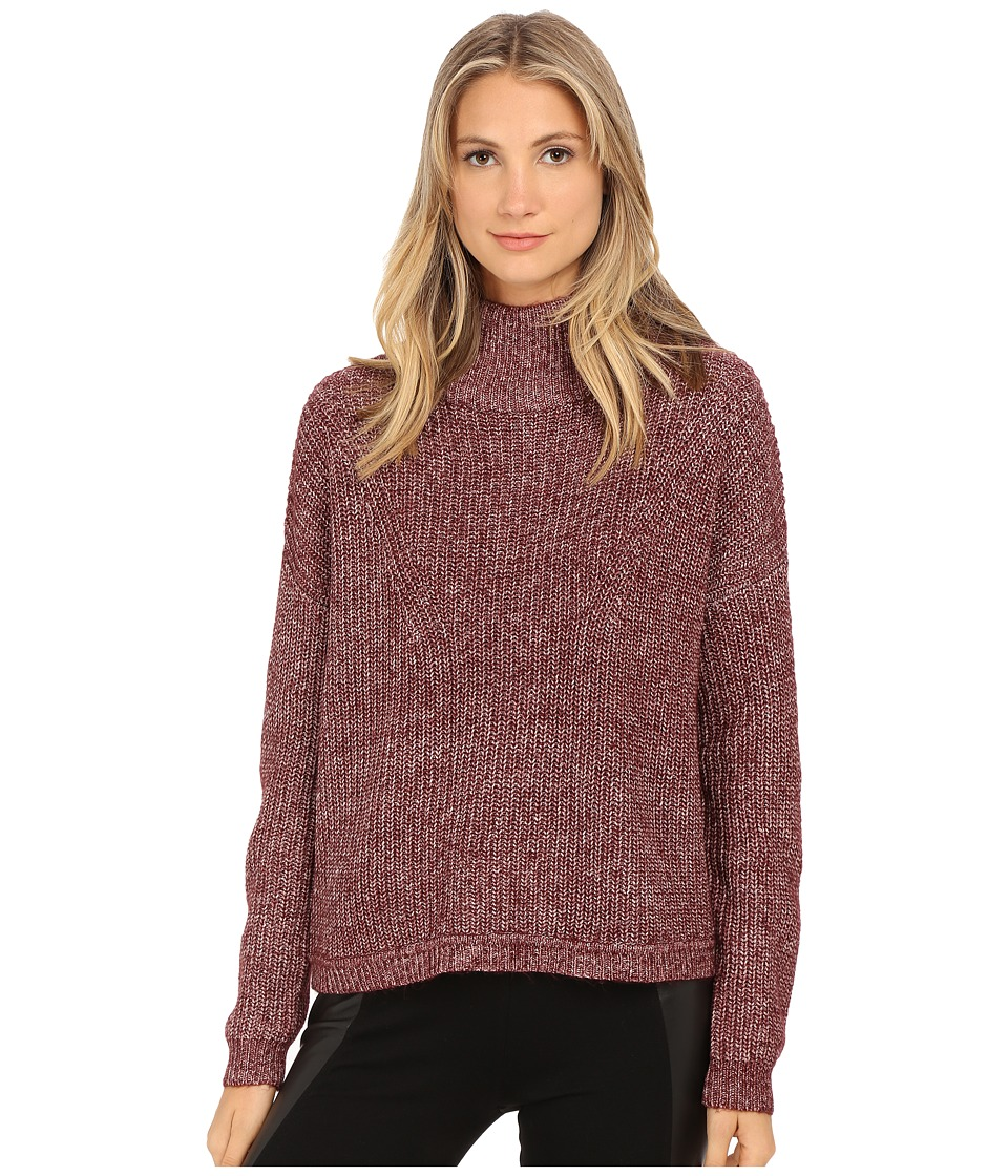 French Connection - Otis Cowl Neck Sweater 78EEL (Biker Berry) Women's Sweater