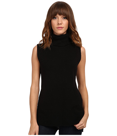 French Connection - Abel Knits Sweater 78EAZ (Black) Women