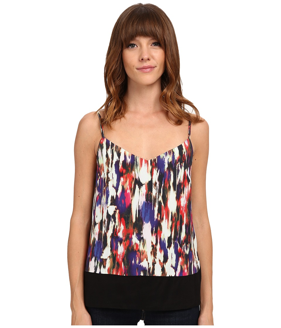 French Connection - Record Ripple Drape Top 72ECX (Prince Rocks Multi) Women's Clothing