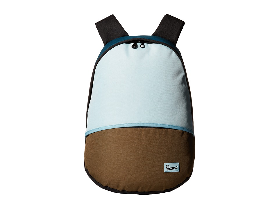 Crumpler - The Private Zoo Laptop Backpack (Turquoise/Pale Blue/Beech) Backpack Bags