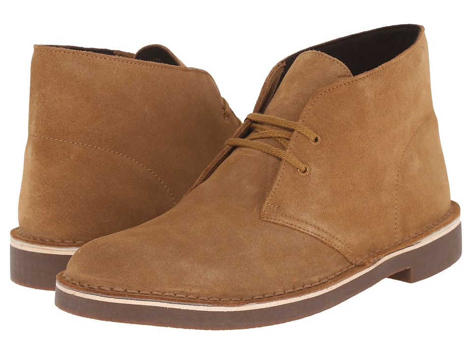 Clarks - Bushacre II (Wheat Suede) Men's Shoes
