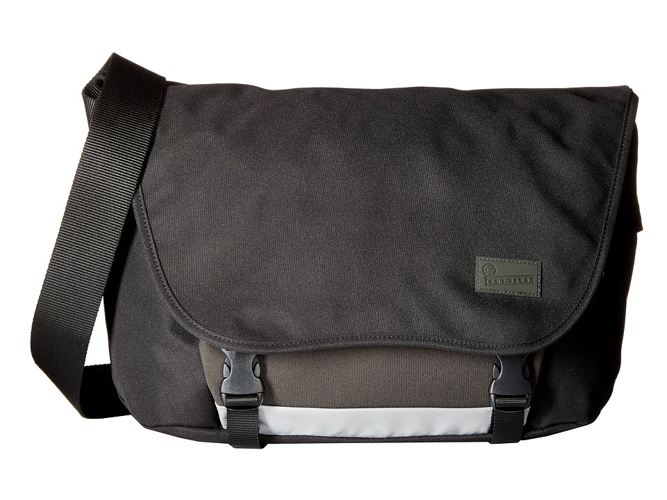 Crumpler - The Considerable Embarrassment Laptop Messenger Bag (Black) Messenger Bags