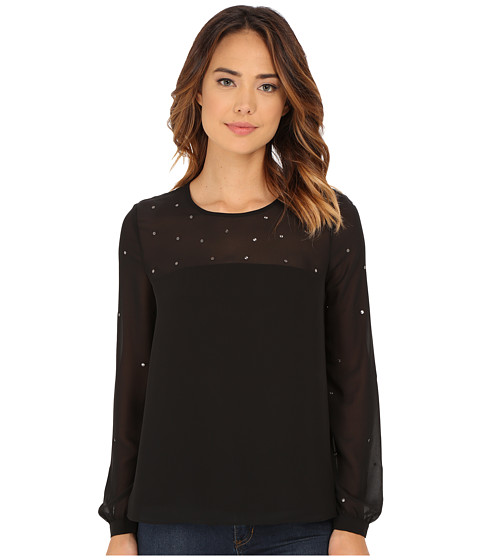 French Connection - Arctic Spell Top 72ENH (Black) Women's Clothing