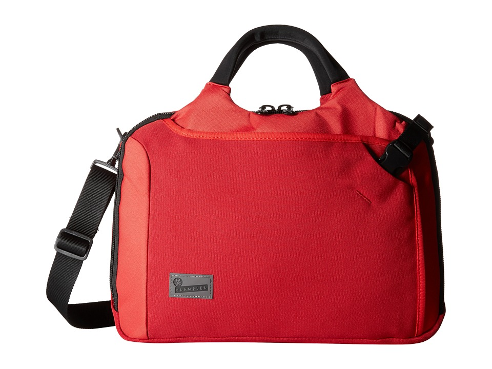 Crumpler - The Dry Red No 7 Laptop Briefcase (Red) Briefcase Bags