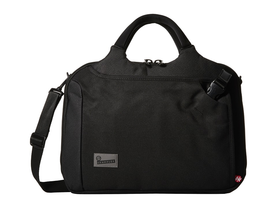 Crumpler - The Dry Red No 7 Laptop Briefcase (Black) Briefcase Bags