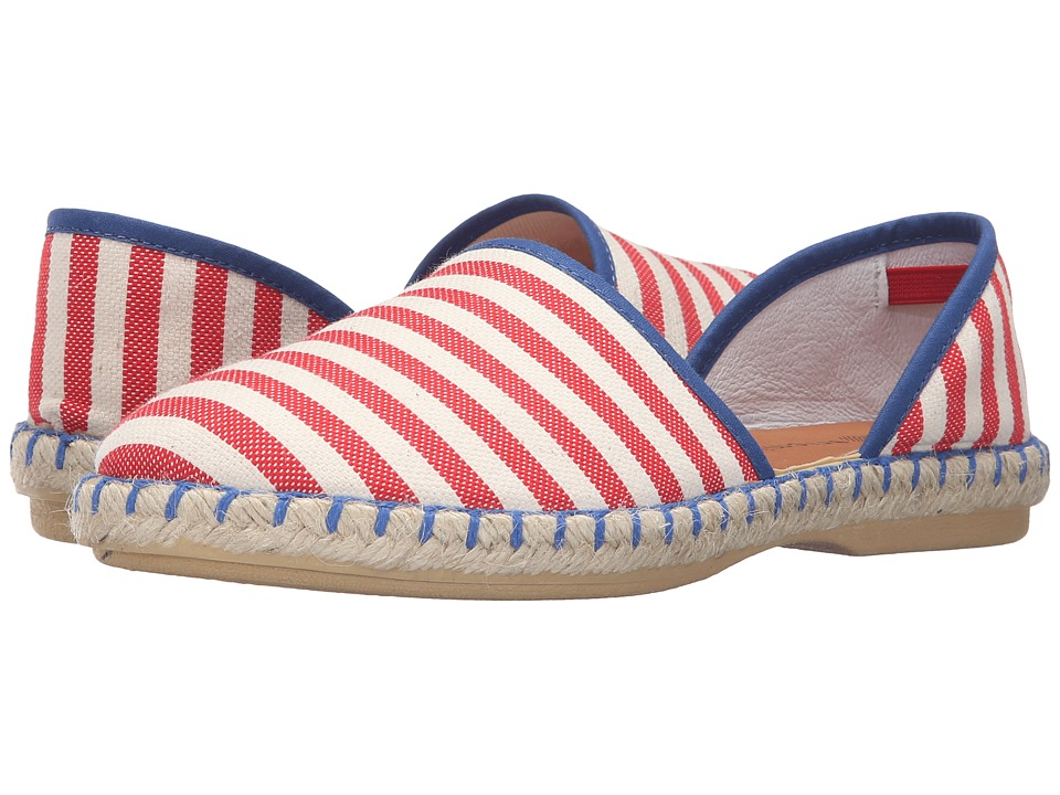 Eric Michael - Francine (Red Stripes) Women's Shoes