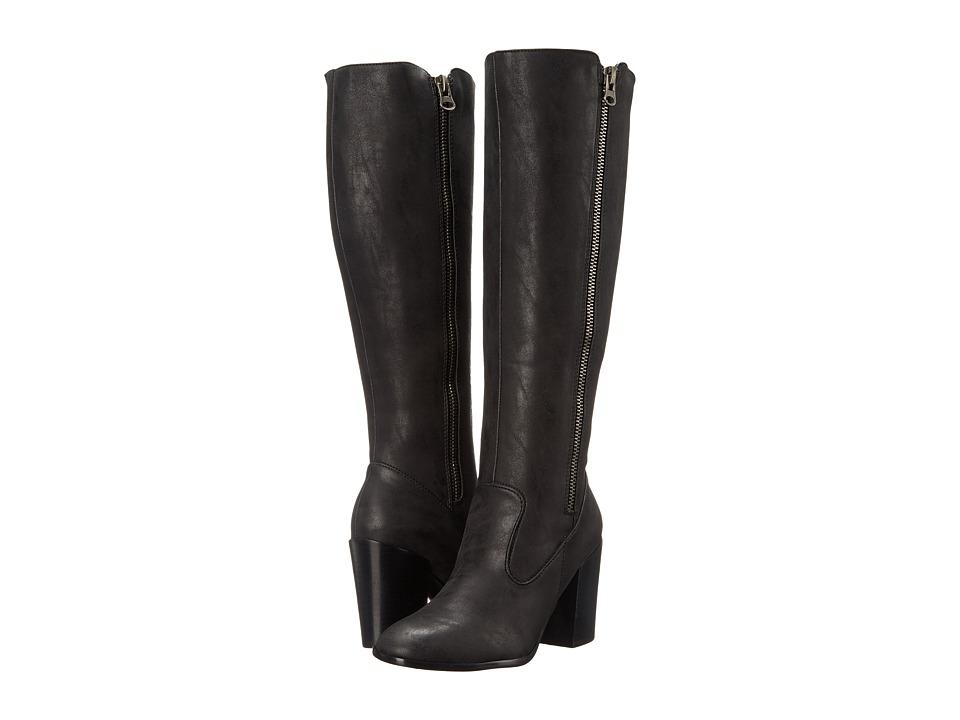 Sbicca - Oboe (Black) Women's Zip Boots