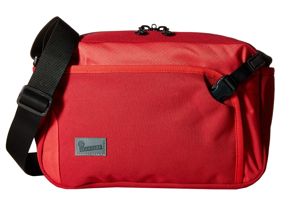 Crumpler - The Dry Red No 2 Boarding Bag (Red) Cross Body Handbags