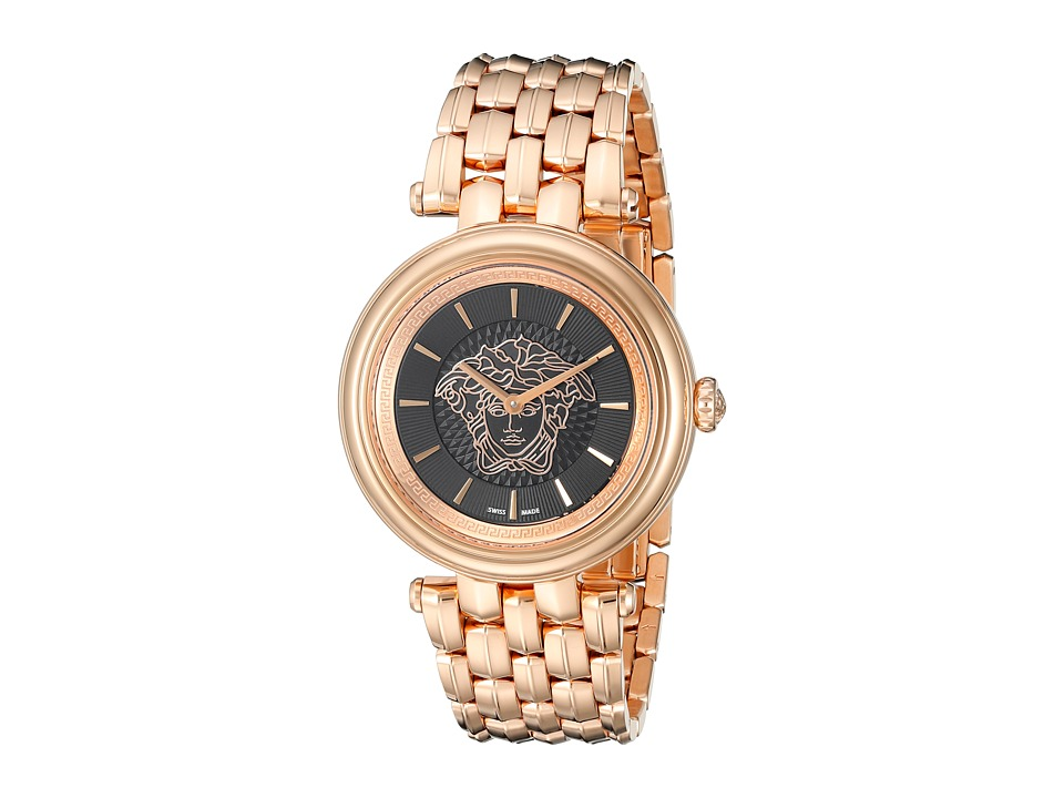 Versace - Khai VQE05 0015 (Rose Gold) Watches