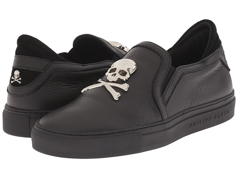 Philipp Plein - Skull Slip-On (Black) Women's Slip on Shoes