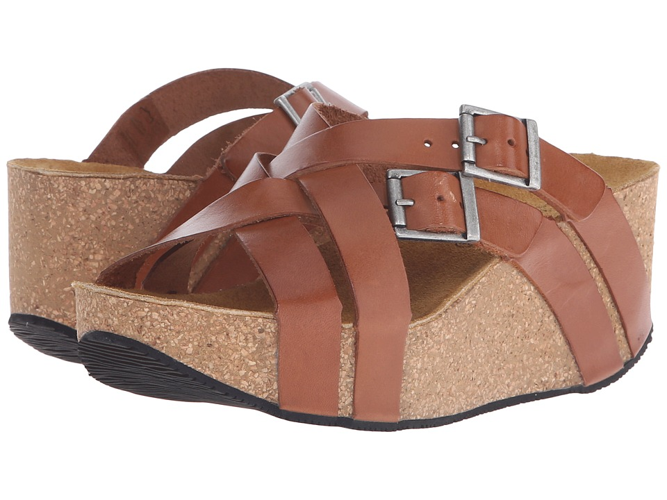 Eric Michael - Joan (Brown) Women's Wedge Shoes