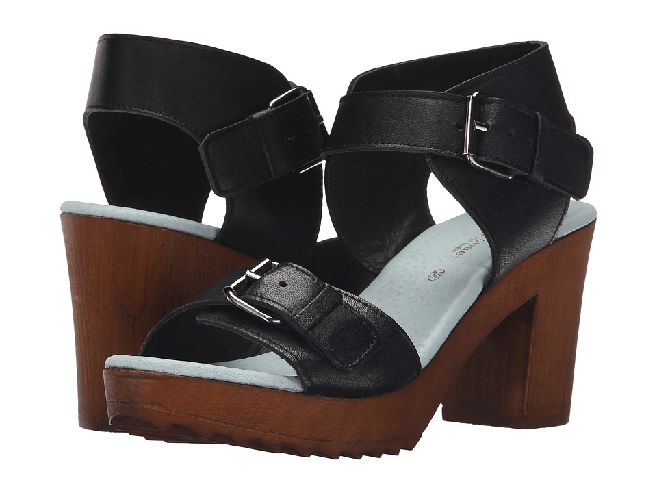 Eric Michael Tess (Black) High Heels