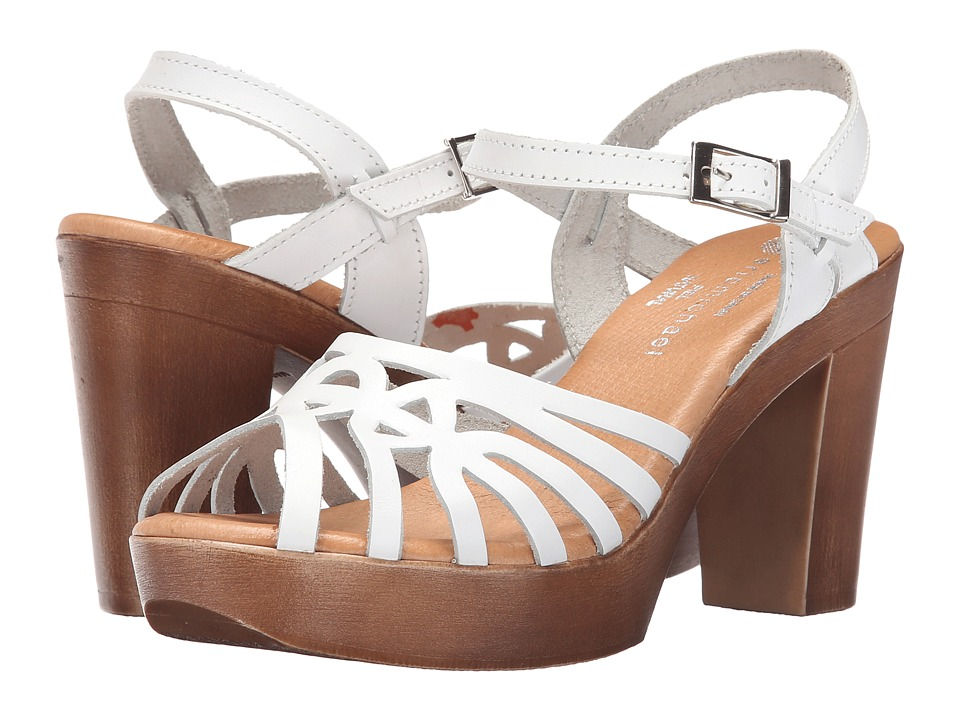 Eric Michael Rosie (White) High Heels