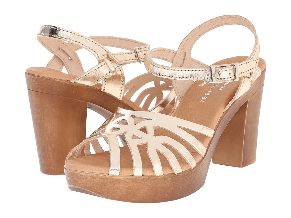 Eric Michael Rosie (Gold) High Heels