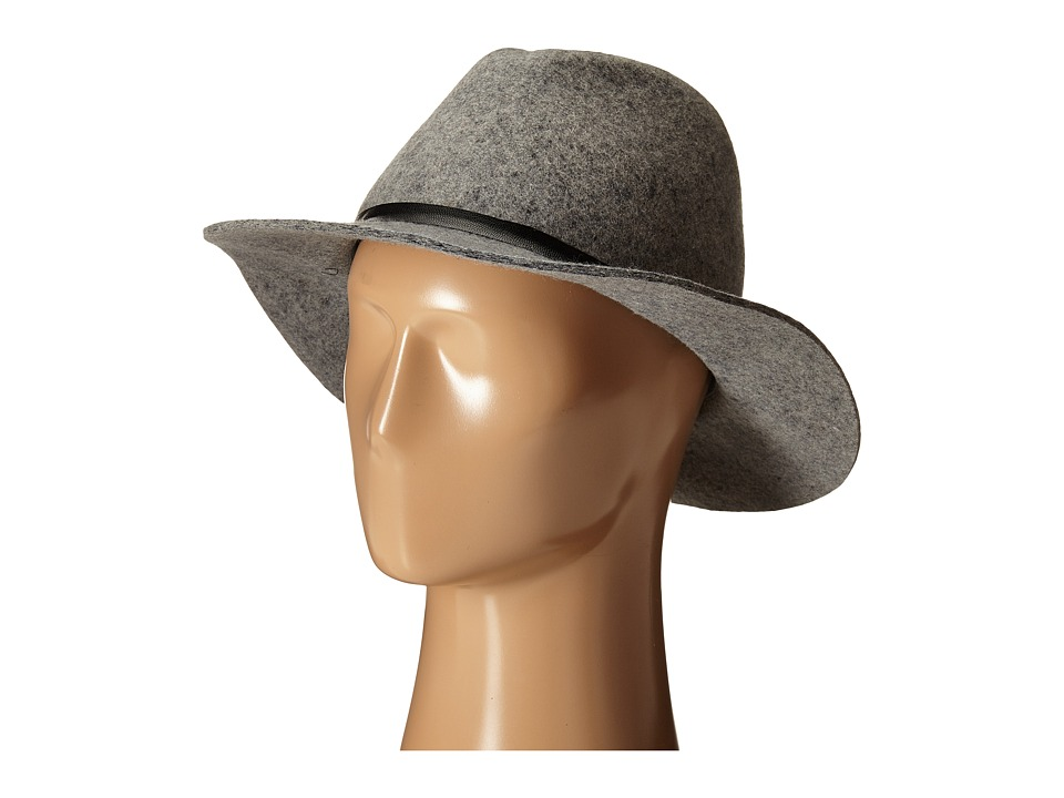 Volcom - Buckaroo Fedora Hat (Heather Grey) Fedora Hats