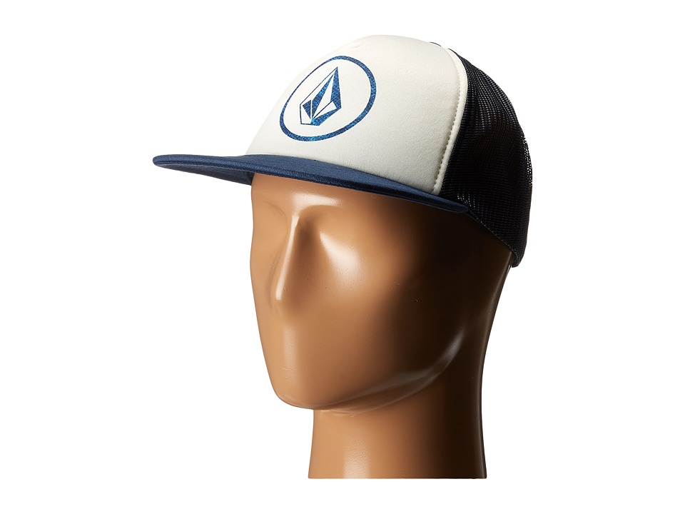 Volcom - Keep Truckin Hat (Midnight Blue) Caps