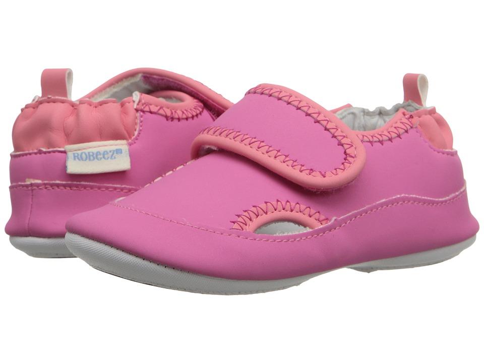 Robeez - Wendy Mini Shoez (Infant/Toddler) (Azalea) Girls Shoes