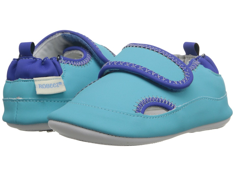 Robeez - Wade Mini Shoez (Infant/Toddler) (Blue) Boys Shoes