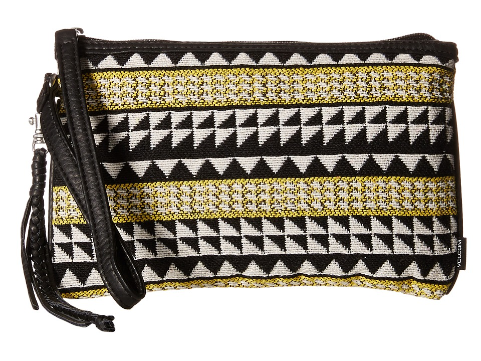 Volcom - Tribal Babe Clutch (Black) Clutch Handbags