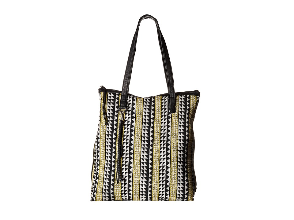 Volcom - Tribal Babe Tote (Black) Tote Handbags