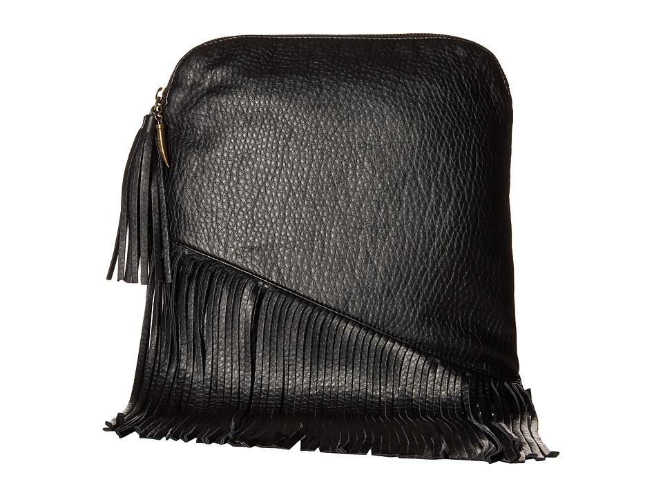 Volcom - Fringe Benefit Clutch (Black) Clutch Handbags