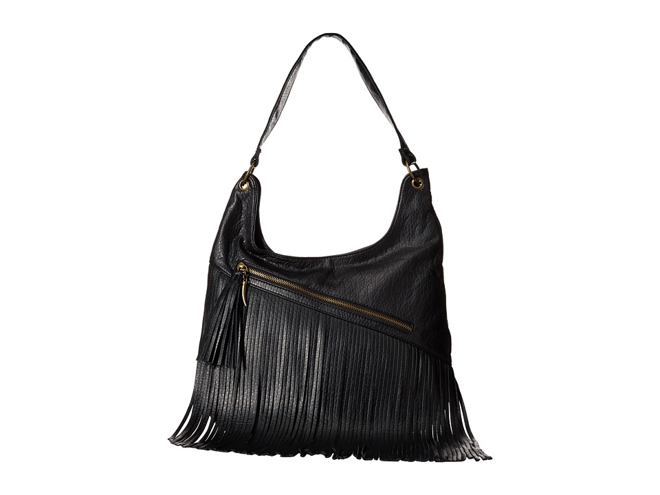Volcom - Fringe Benefit Hobo (Black) Hobo Handbags