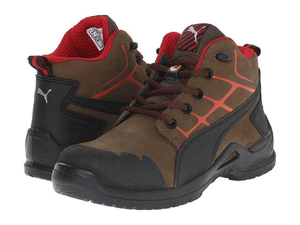 PUMA Safety - Krypton Mid (Brown) Women's Work Boots