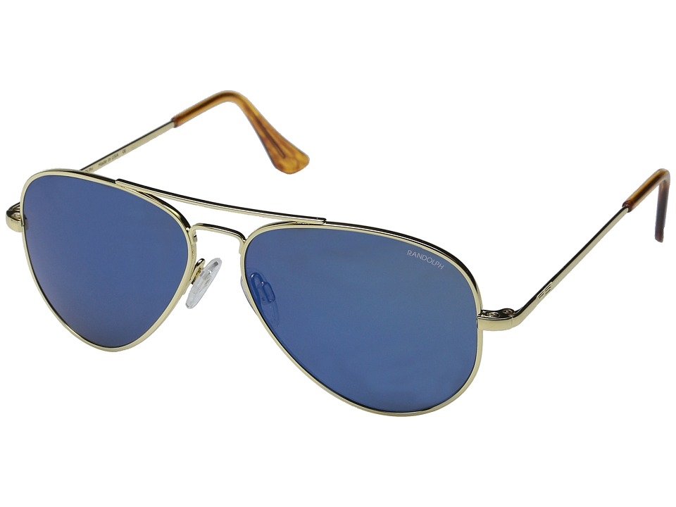 Randolph - Concorde 57mm (23K Gold/Blue Sky) Fashion Sunglasses
