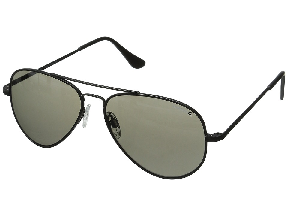 Randolph - Concorde 57mm Polarized (Matte Black/Gray Polarized) Fashion Sunglasses