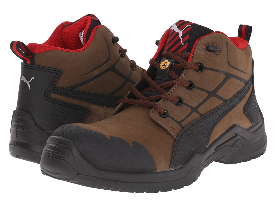 PUMA Safety - Krypton Mid (Brown) Men's Work Boots