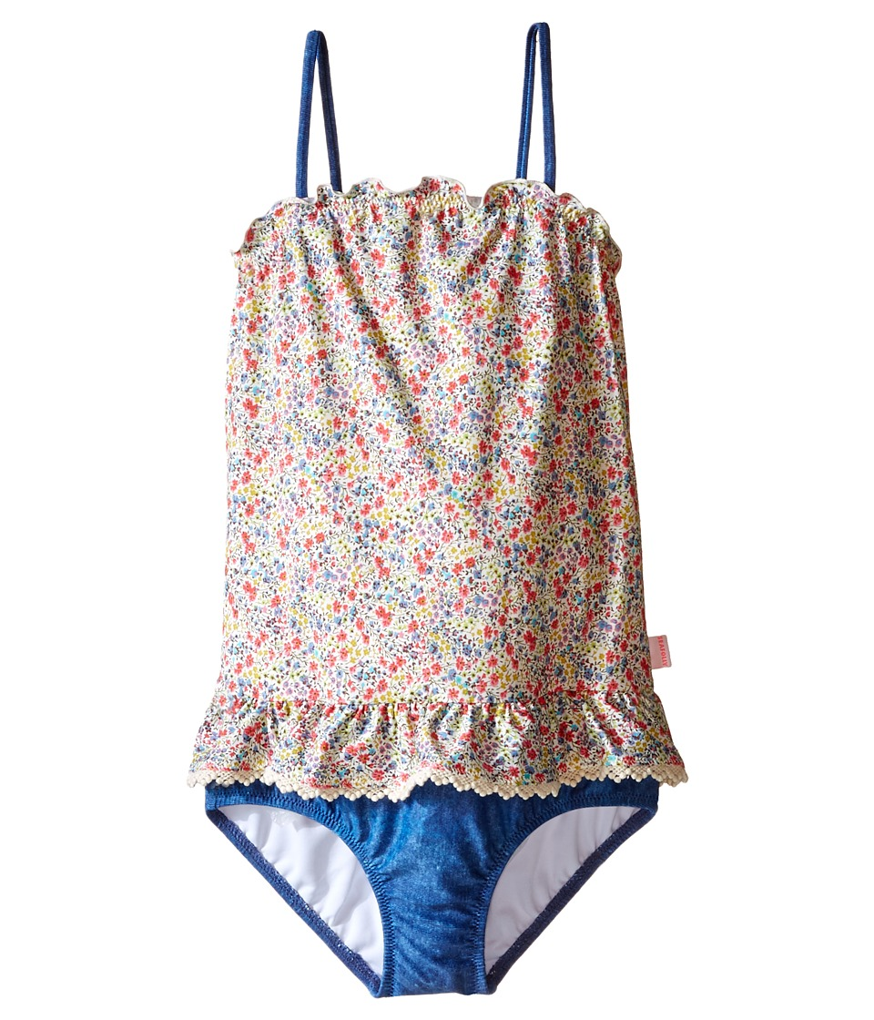 Seafolly Kids - Summer Liberty Blouson Tank Top (Infant/Toddler/Little Kids) (Multi) Girl's Swimsuits One Piece