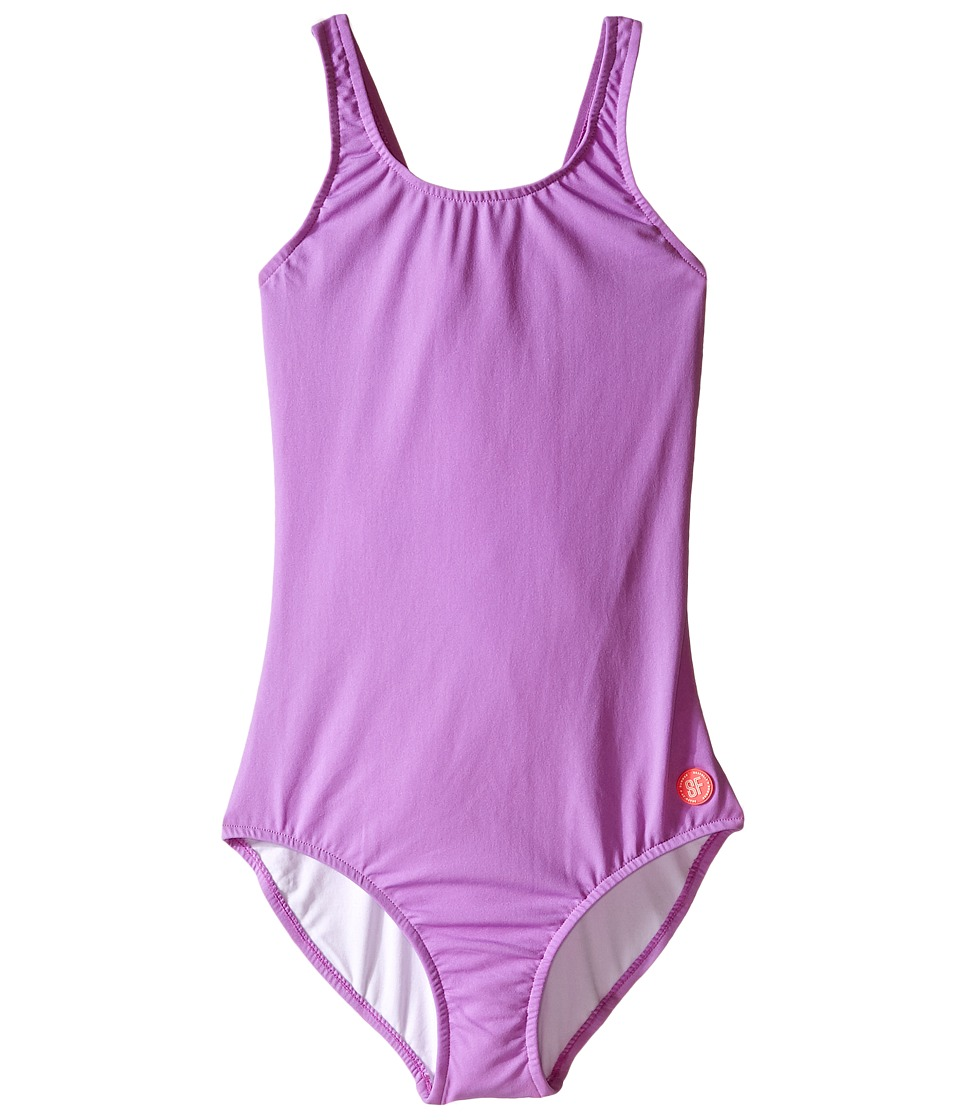 Seafolly Kids - Fun Run Racerback Tank Top (Little Kids/Big Kids) (Lavender) Girl's Swimsuits One Piece