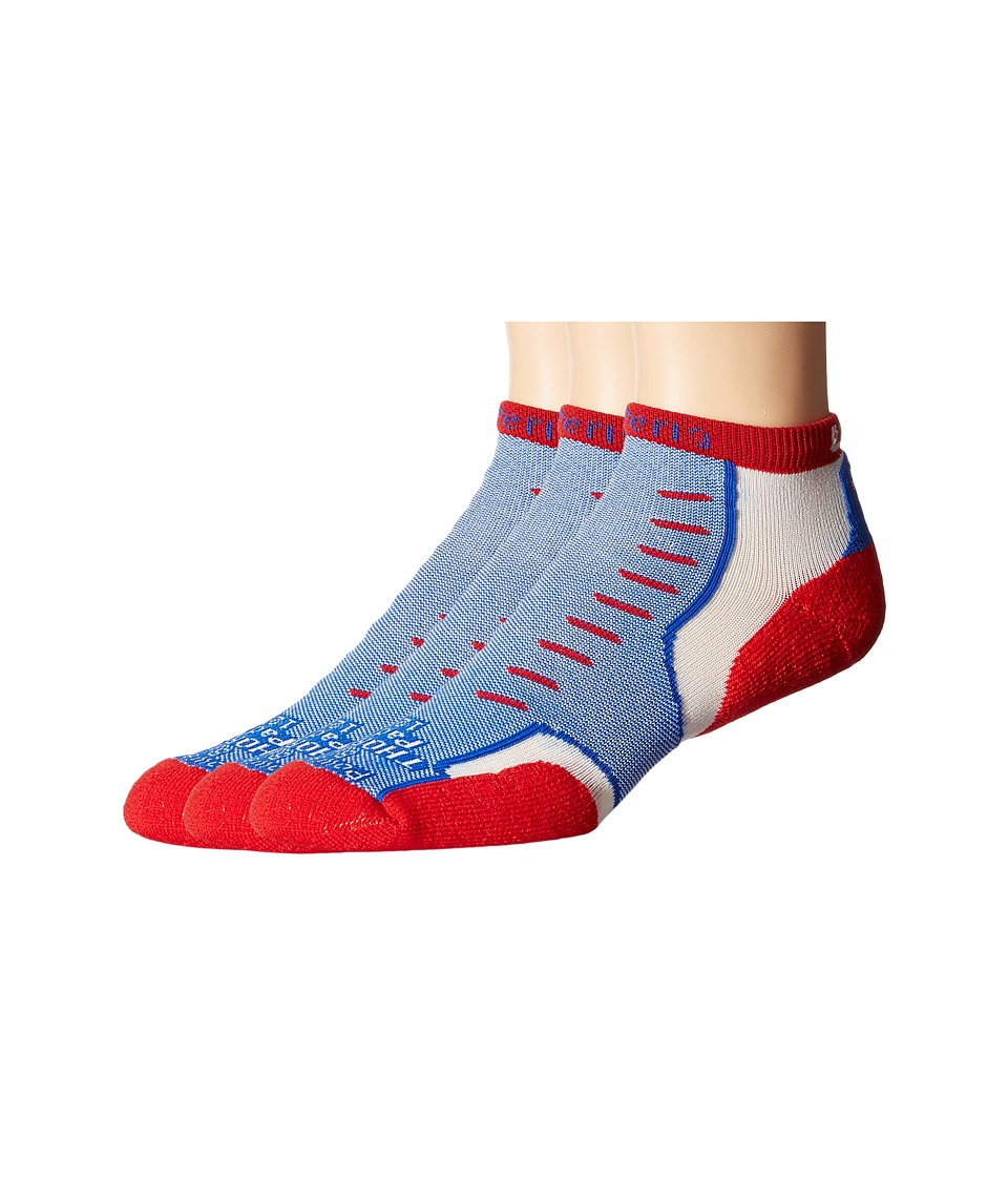 Thorlos - Experia U.S.A. Mini Crew 3-Pair Pack (U.S.A.) Crew Cut Socks Shoes