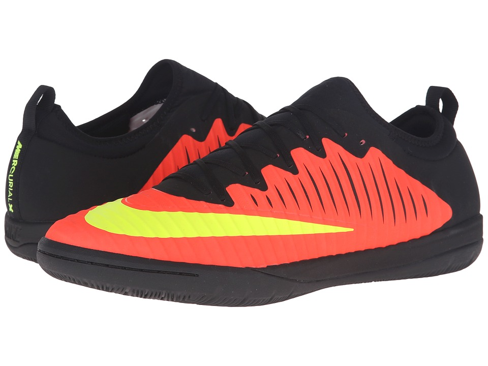 Nike - MercurialX Finale II IC (Total Crimson/Pink Blast/Black/Volt) Men's Soccer Shoes