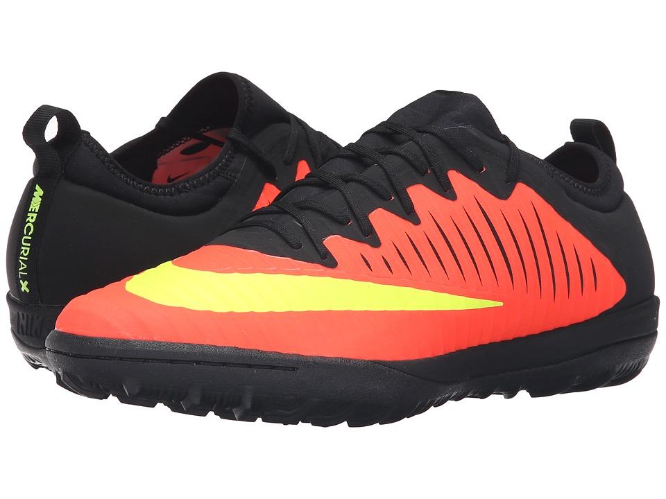 Nike - MercurialX Finale II TF (Total Crimson/Pink Blast/Black/Volt) Men's Soccer Shoes