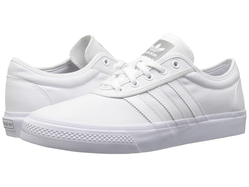 adidas Skateboarding - Adi-Ease (White/White/White) Men's Skate Shoes