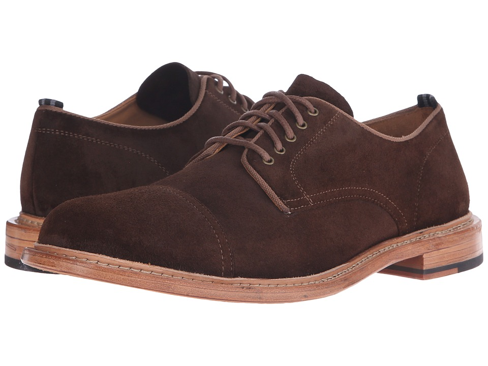Cole Haan - Willet Cap Oxford (Java Suede) Men's Lace up casual Shoes