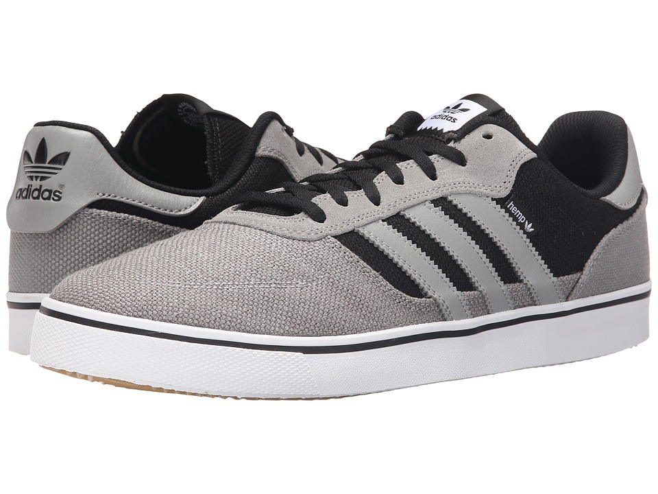 adidas Skateboarding - Copa Vulc (Charcoal Solid Grey/White/Black) Men's Skate Shoes