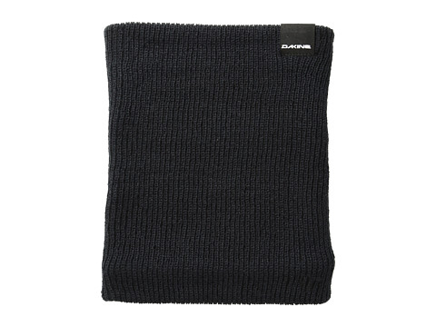 Dakine - Tall Boy Neck Gaiter (Black) Scarves